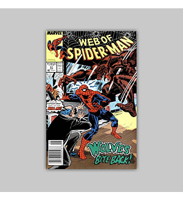 Web of Spider-Man 51 1989