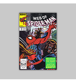 Web of Spider-Man 53 1989