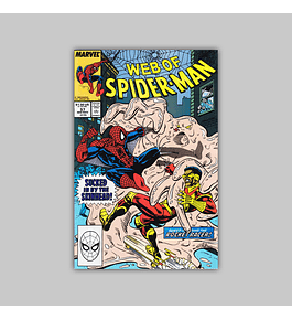 Web of Spider-Man 57 1989