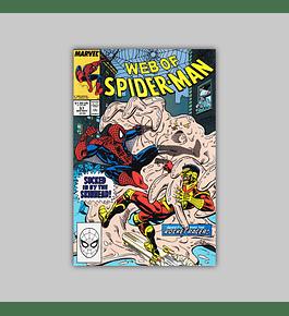 Web of Spider-Man 57 1989