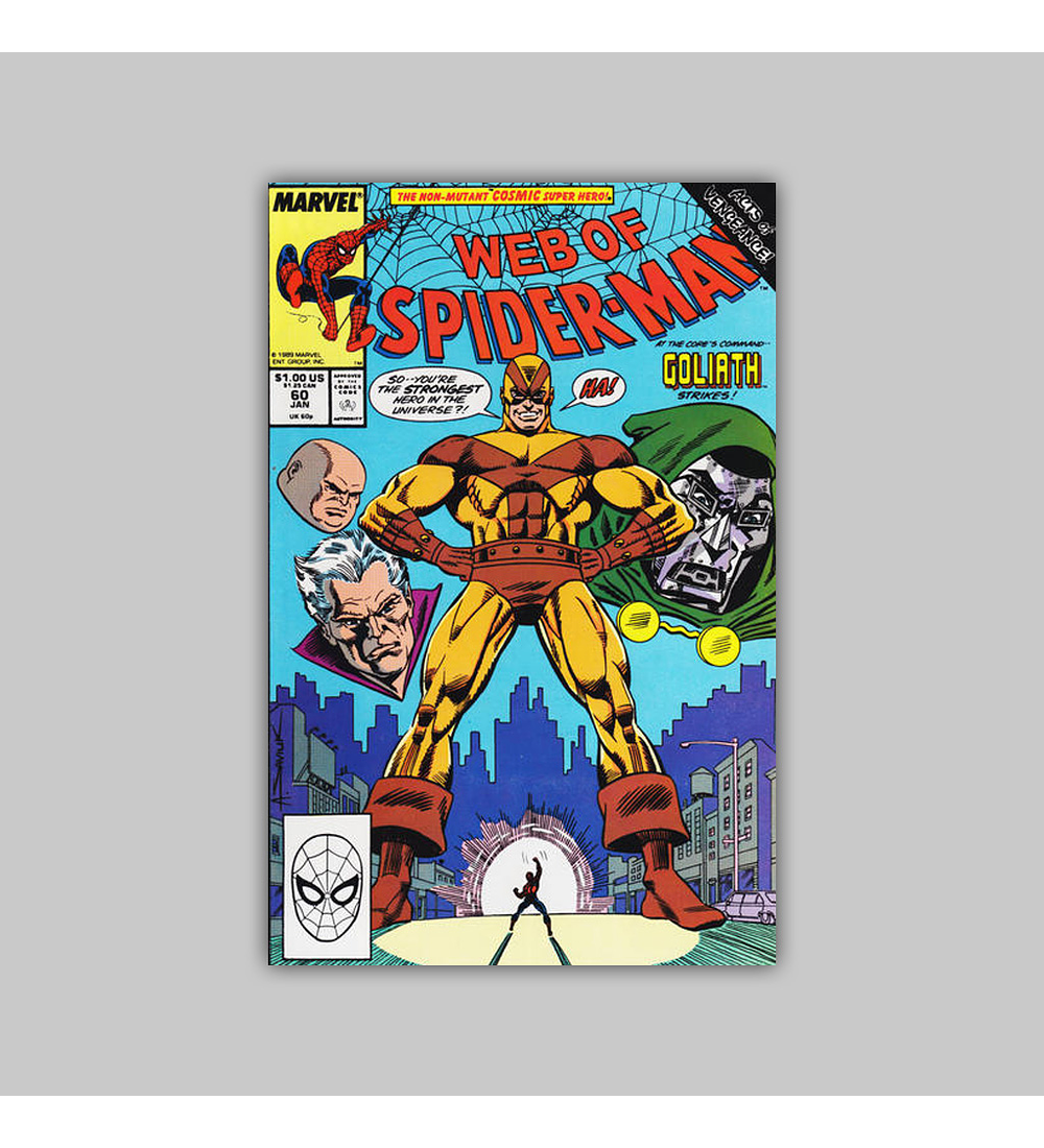 Web of Spider-Man 60 1990