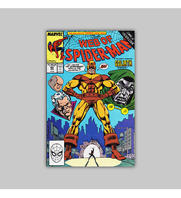 Web of Spider-Man 60 1990