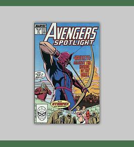 Avengers Spotlight 21 1989