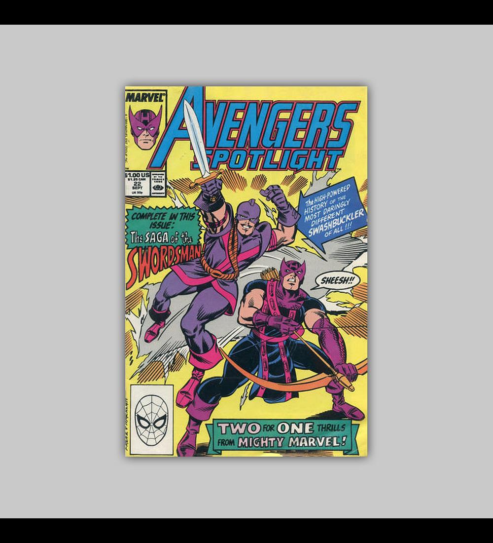 Avengers Spotlight 22 1989