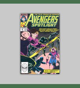 Avengers Spotlight 24 1989