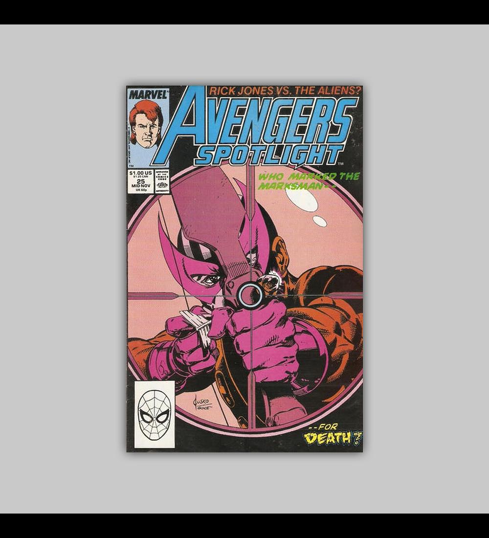 Avengers Spotlight 25 1989
