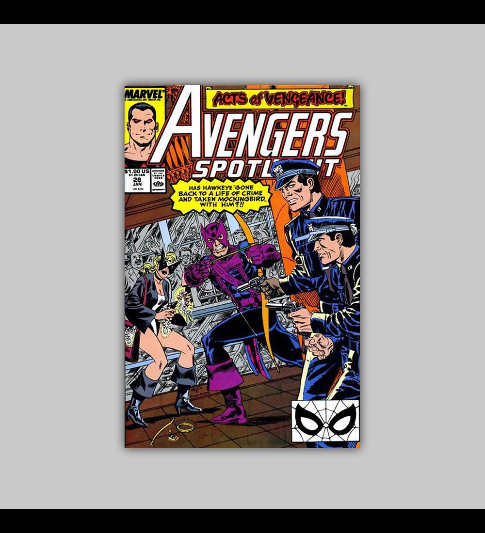 Avengers Spotlight 28 1990