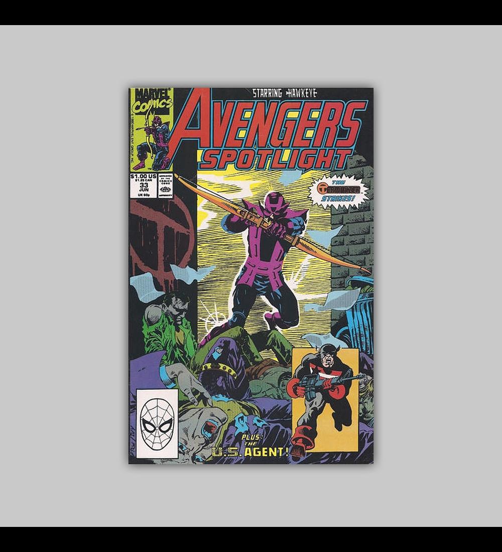 Avengers Spotlight 33 1990