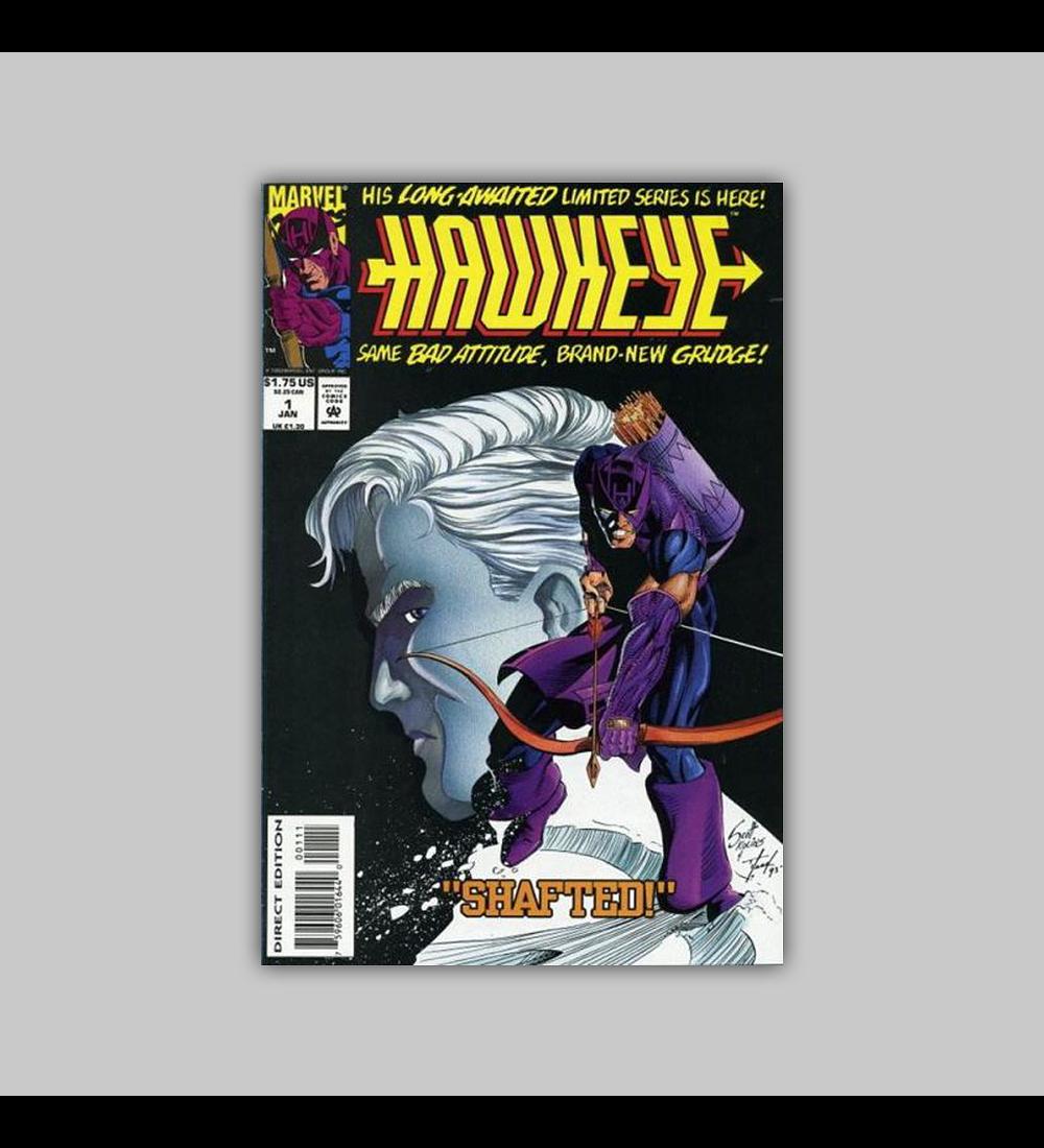 Hawkeye 1 VF/NM (9.00) 1994