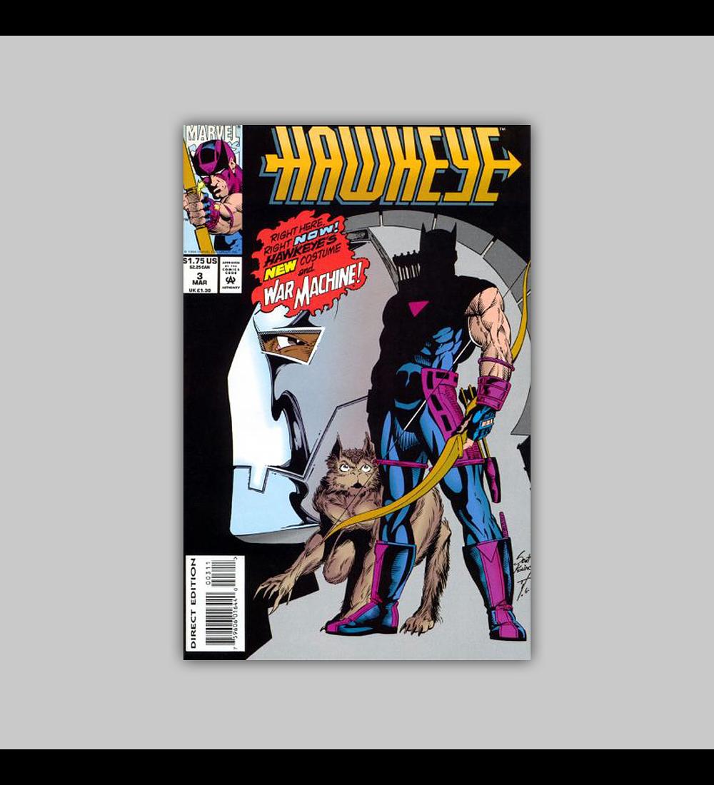 Hawkeye 3 VF/NM (9.00) 1994