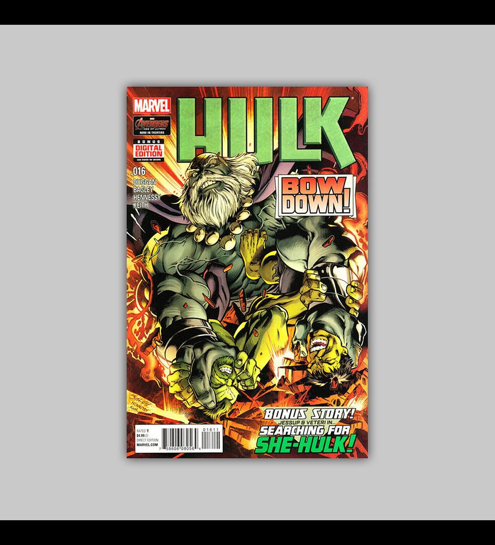 Hulk (Vol. 2) 16 2015