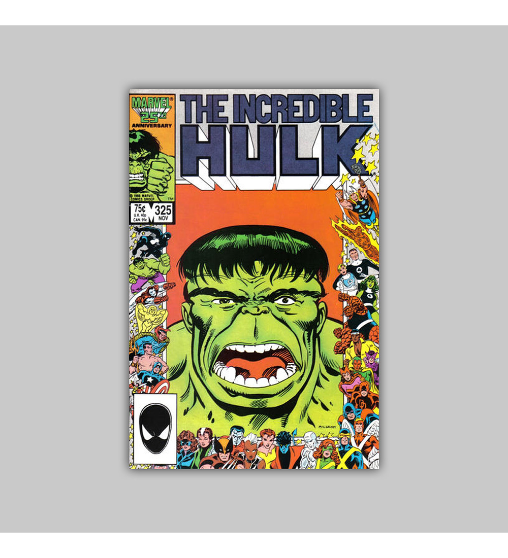 Incredible Hulk 325 1986
