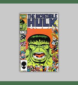 Incredible Hulk 325 1986