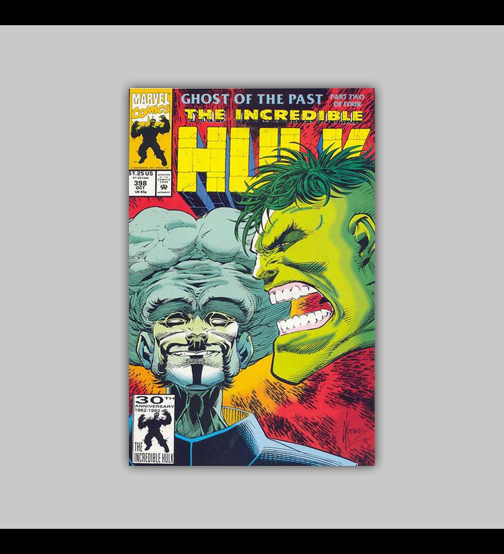 Incredible Hulk 398 1992