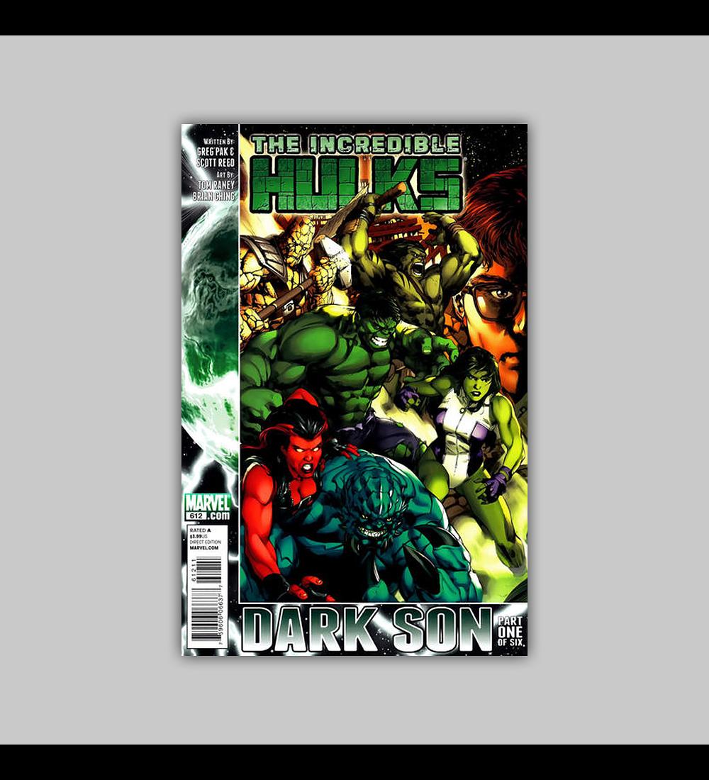 Incredible Hulk 612 2010