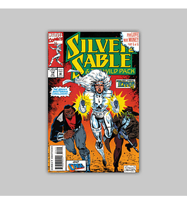 Silver Sable & the Wild Pack 14 1993