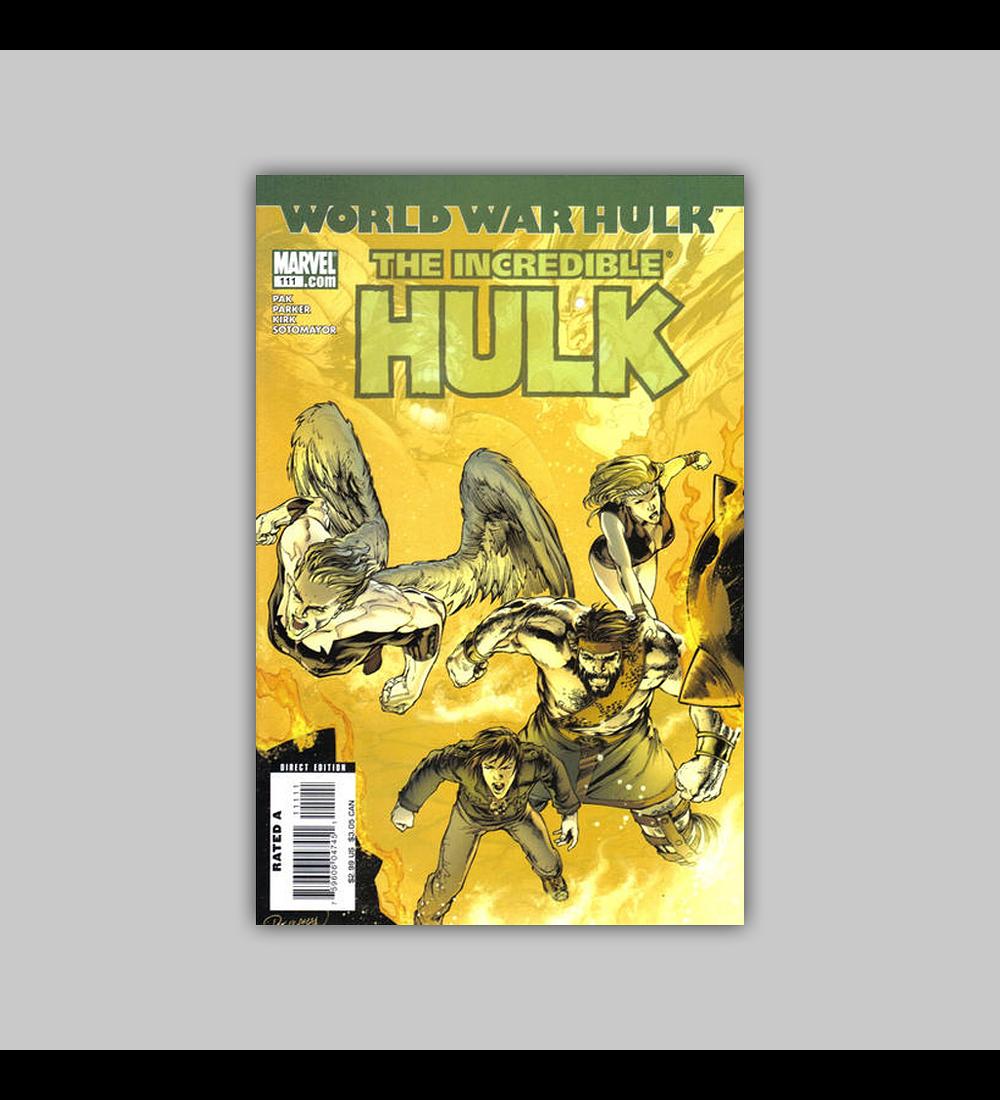 Incredible Hulk (Vol. 2) 111 2007