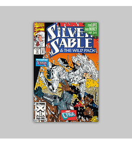 Silver Sable & the Wild Pack 13 1993