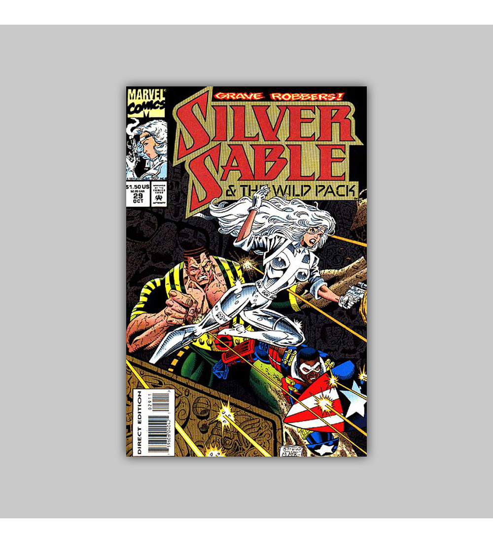 Silver Sable & the Wild Pack 29 1994