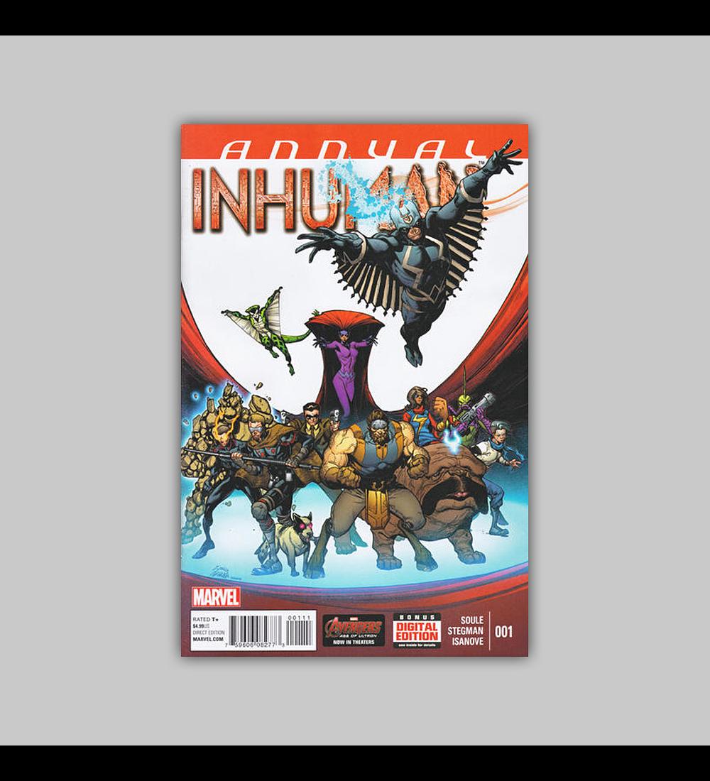 Inhuman Annual 1 2015