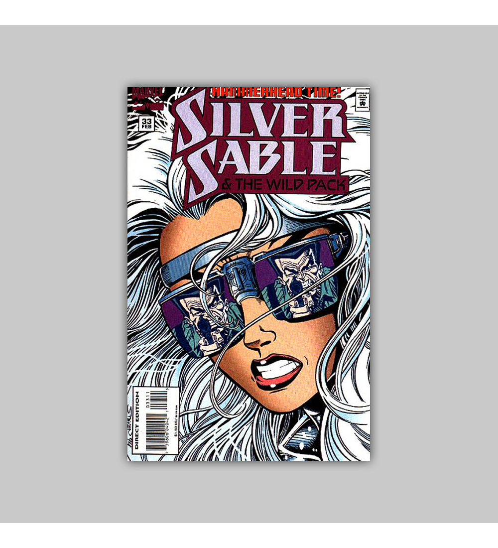 Silver Sable & the Wild Pack 33 1995