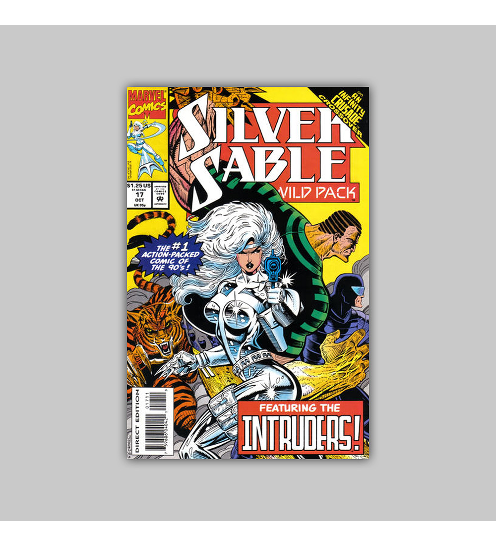 Silver Sable & the Wild Pack 17 1993