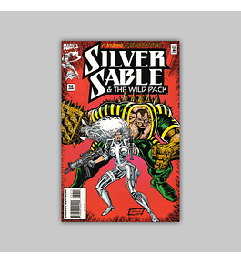 Silver Sable & the Wild Pack 32 1995