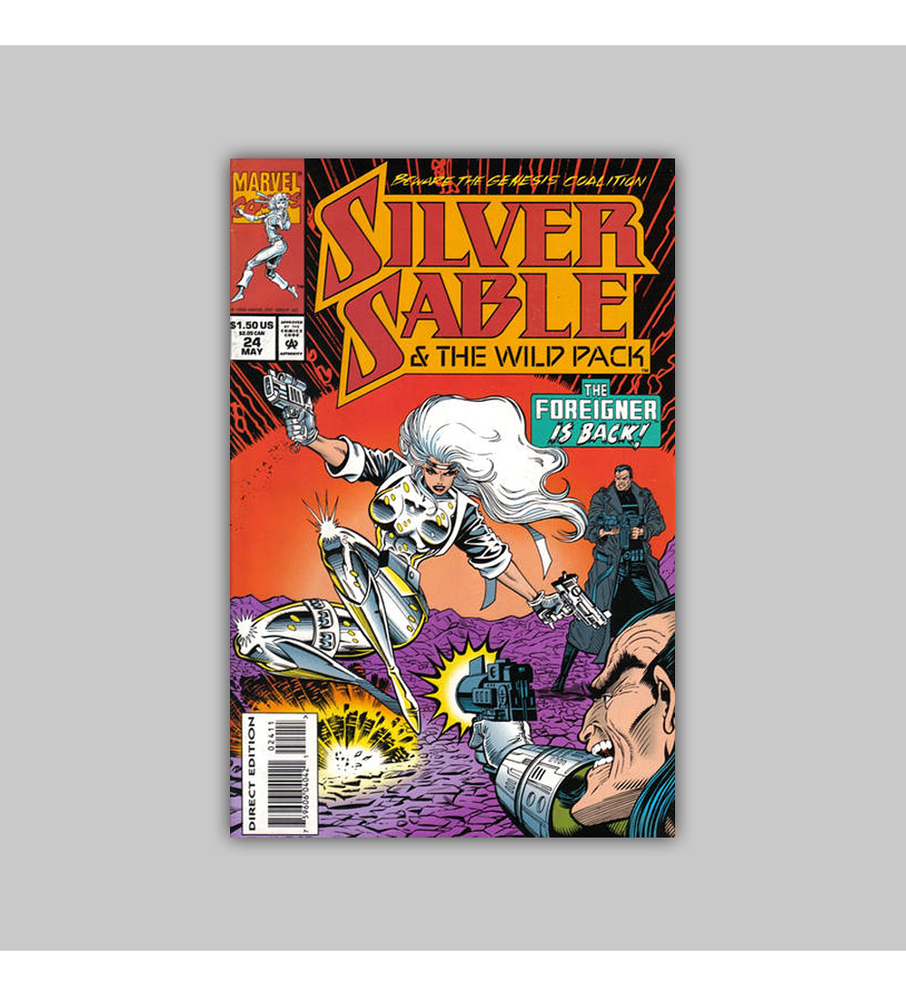 Silver Sable & the Wild Pack 24 1994