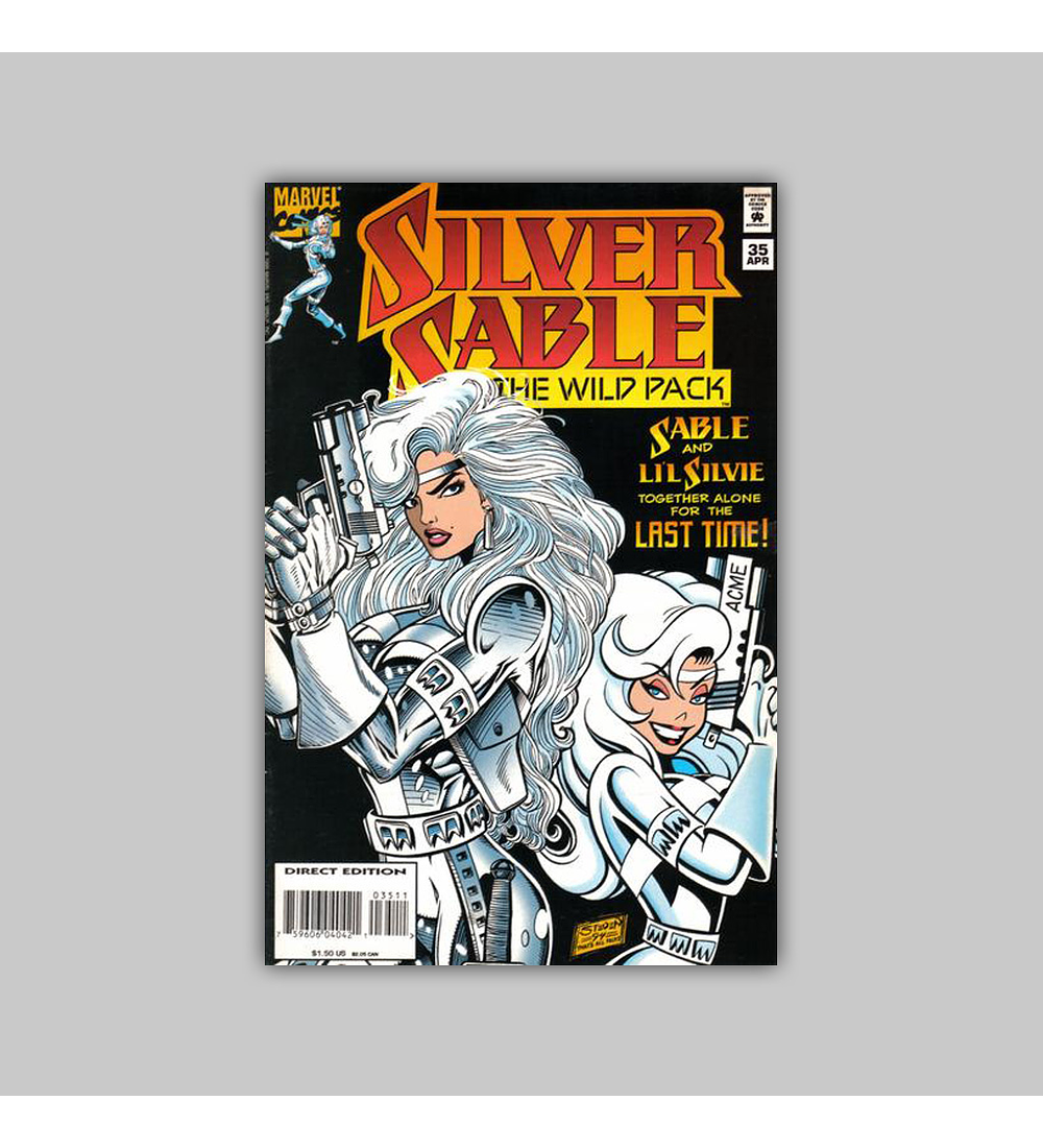 Silver Sable & the Wild Pack 35 1995