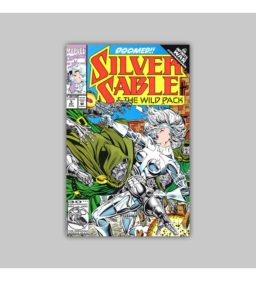 Silver Sable & the Wild Pack 5 1992