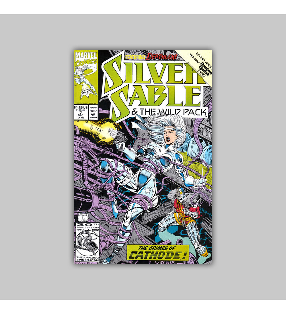 Silver Sable & the Wild Pack 7 1992