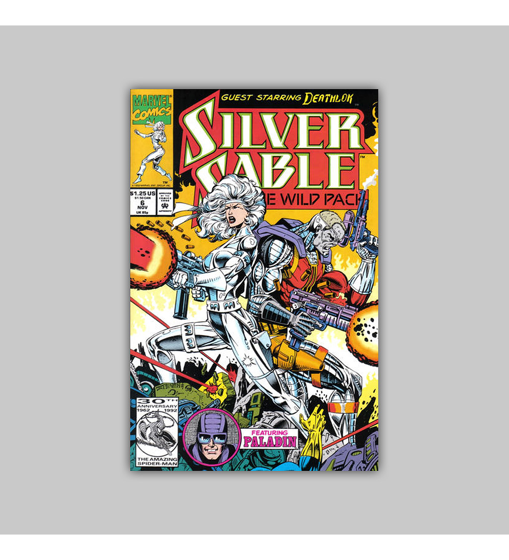 Silver Sable & the Wild Pack 6 1992