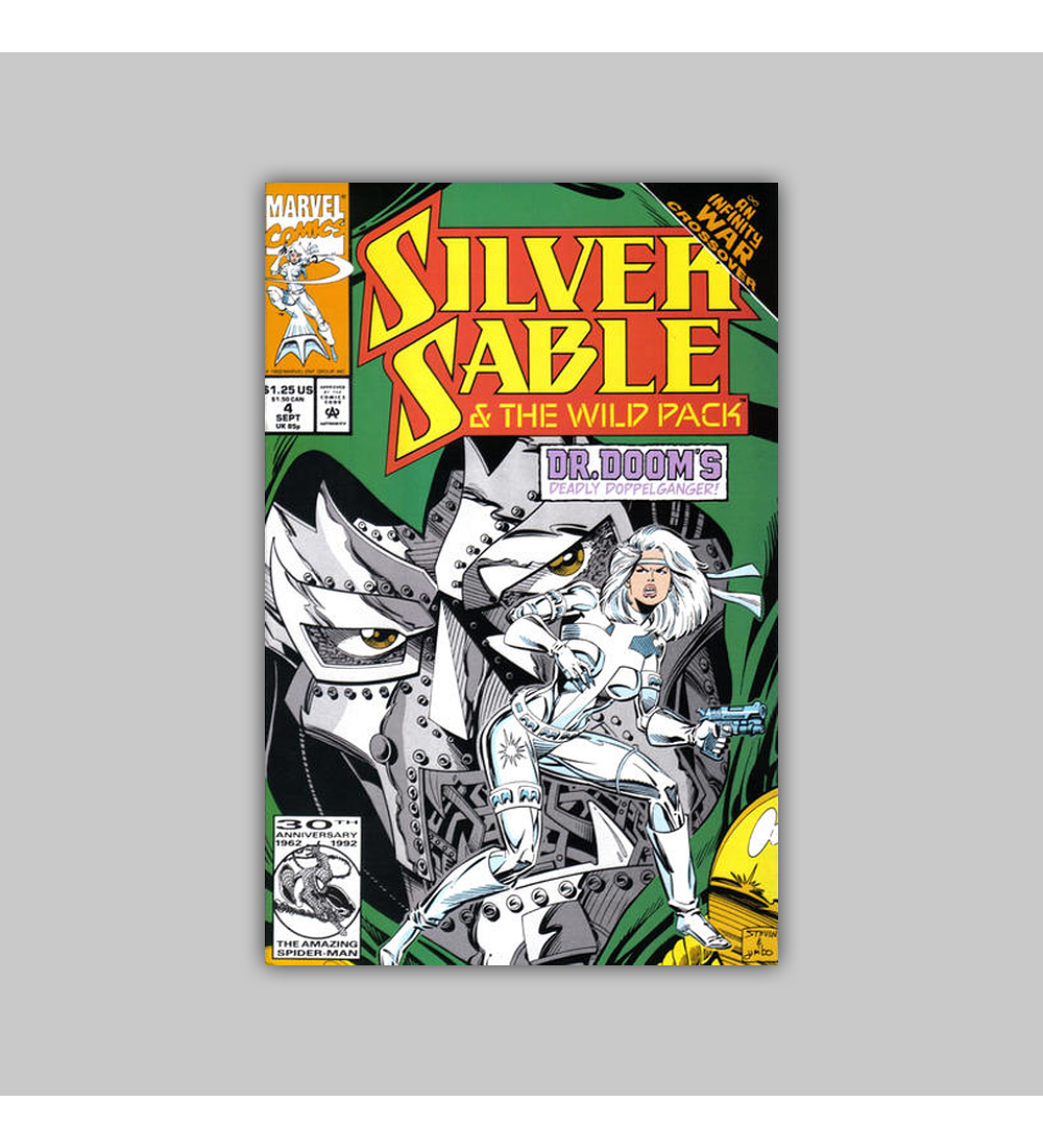 Silver Sable & the Wild Pack 4 1992