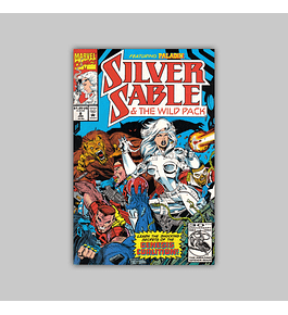 Silver Sable & the Wild Pack 8 1993