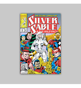 Silver Sable & the Wild Pack 9 1993