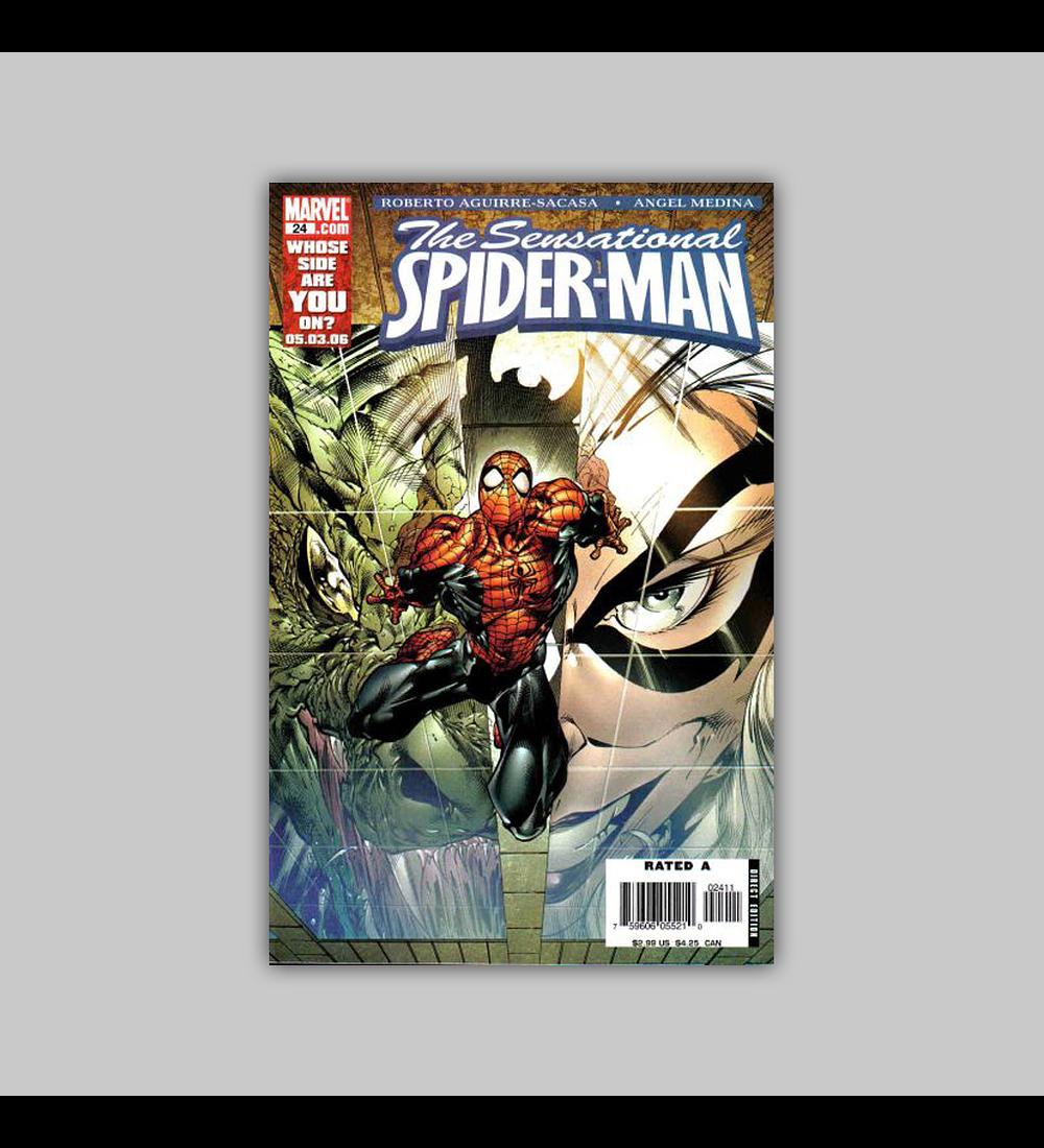 The Sensational Spider-Man 24 2006