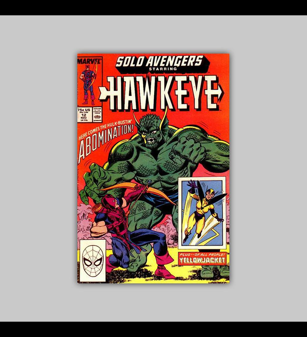 Solo Avengers 12 1988
