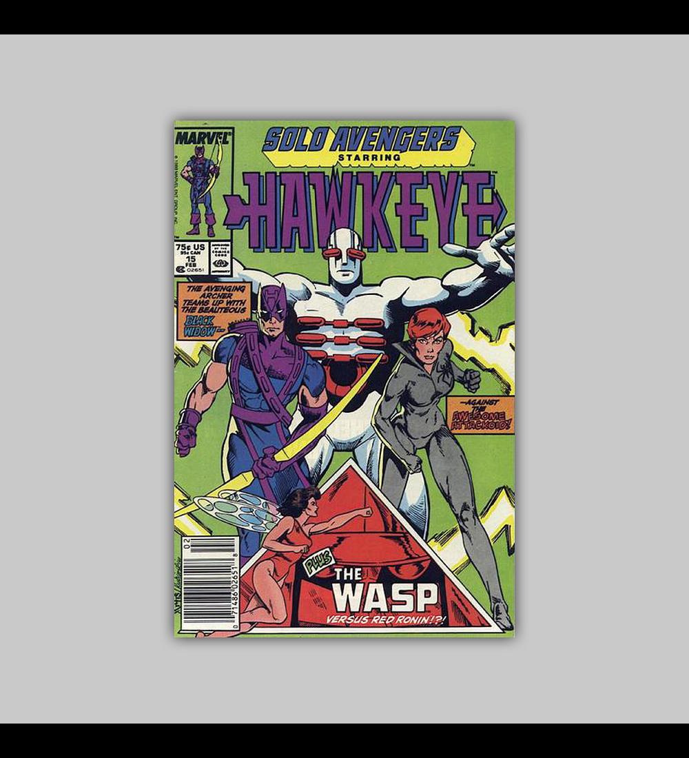 Solo Avengers 15 1989