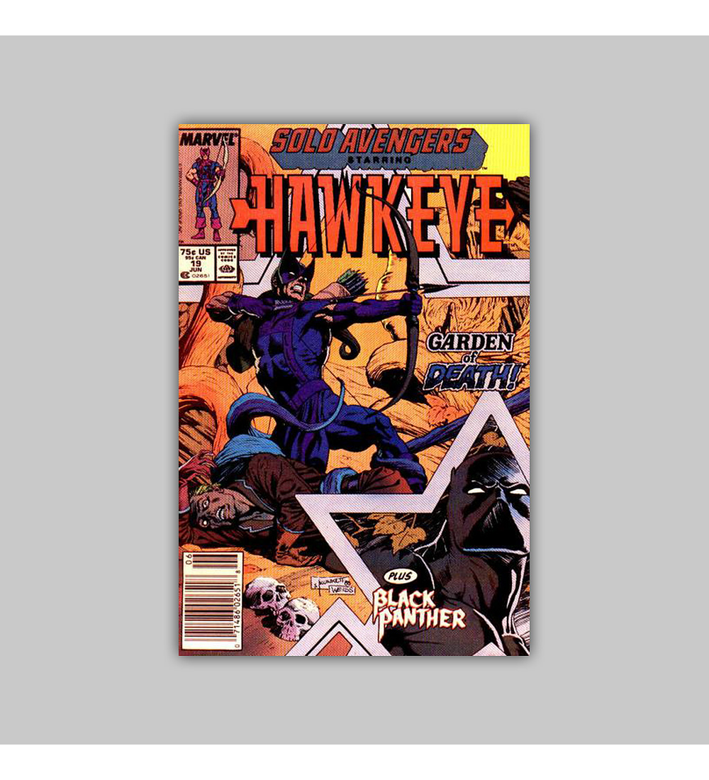 Solo Avengers 19 1989