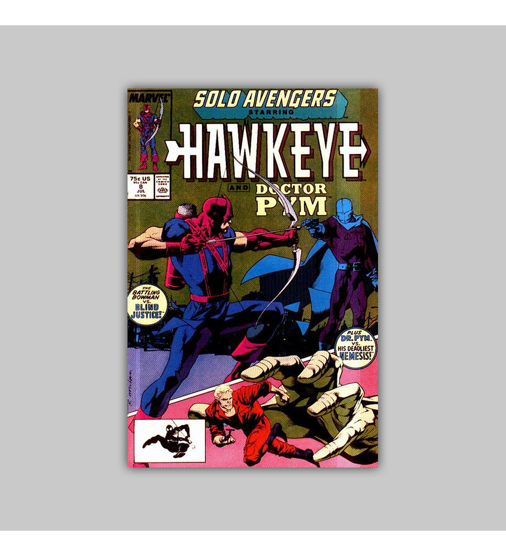Solo Avengers 8 1988