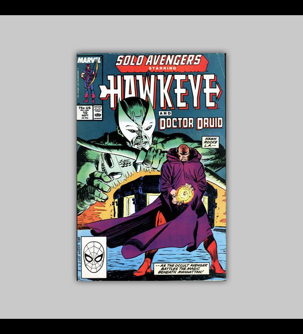 Solo Avengers 10 1988