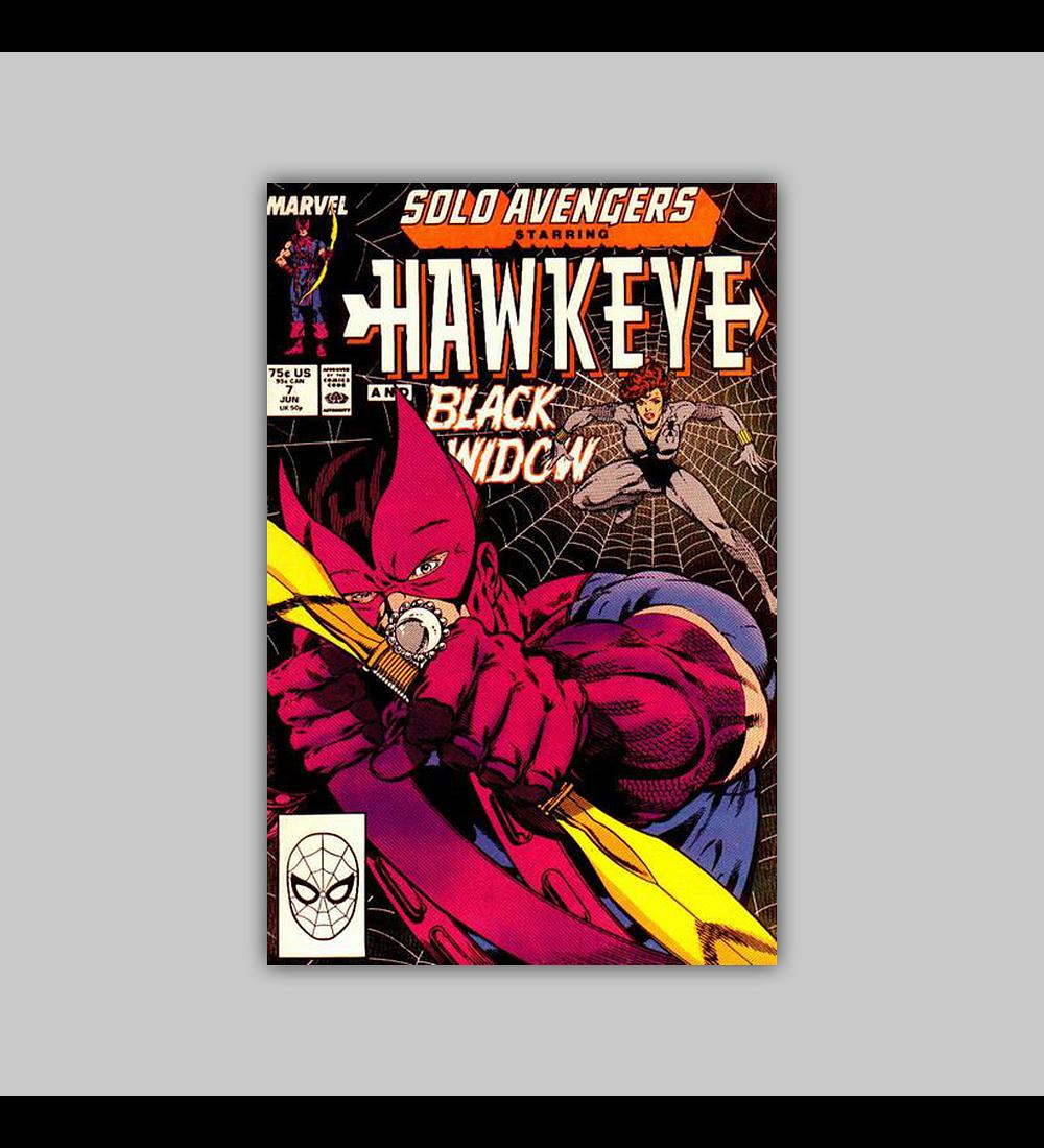Solo Avengers 7 1988