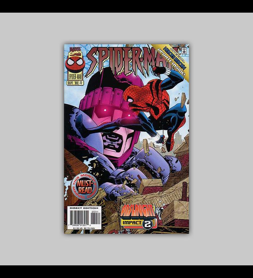 Spider-Man 72 1996