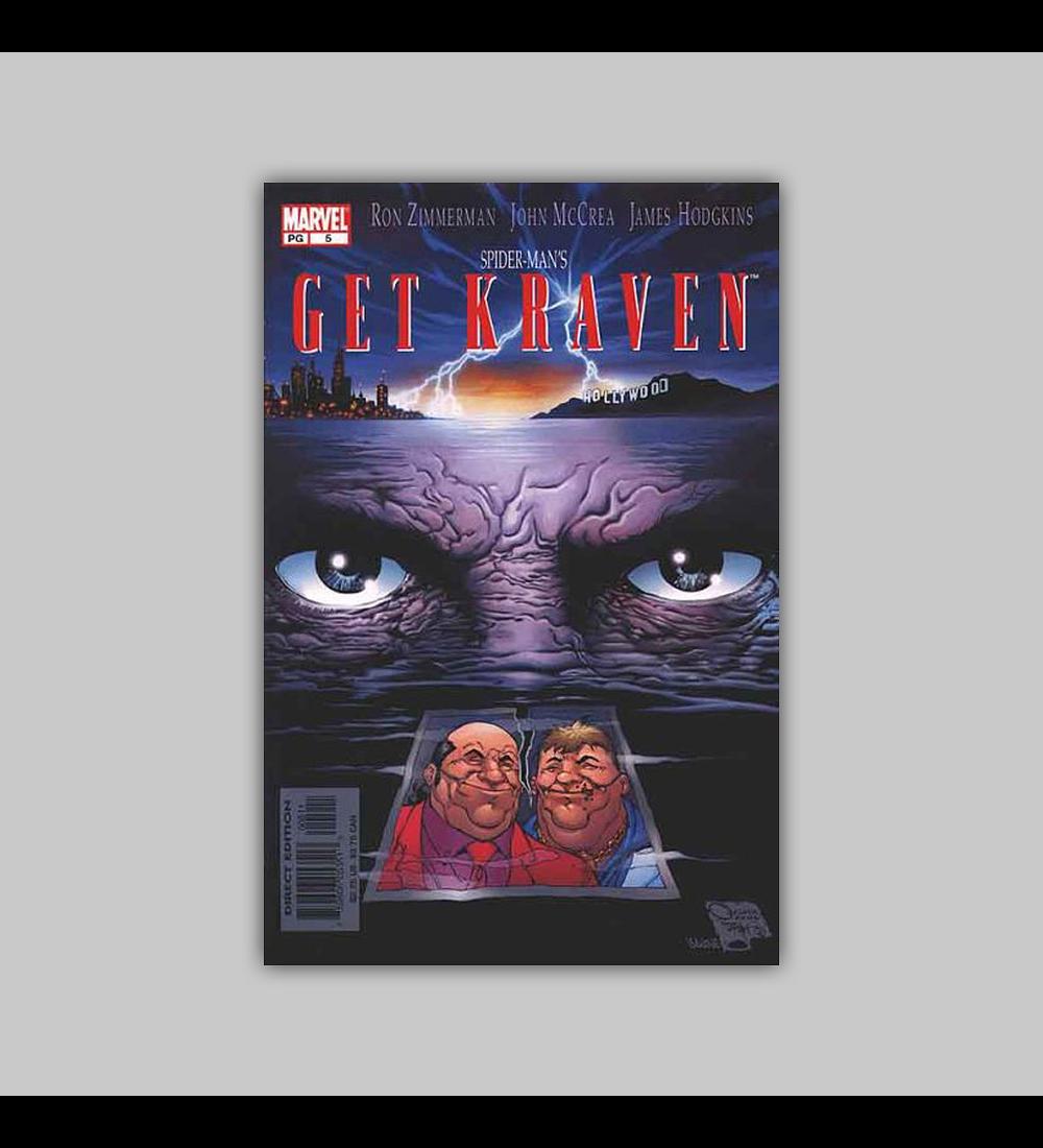Spider-Man: Get Kraven 5 2002