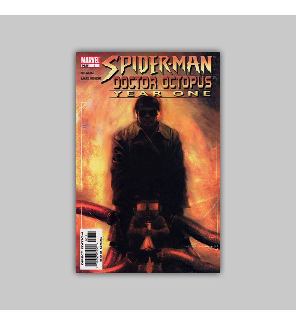 Spider-Man/Doctor Octopus: Year One 1 2004