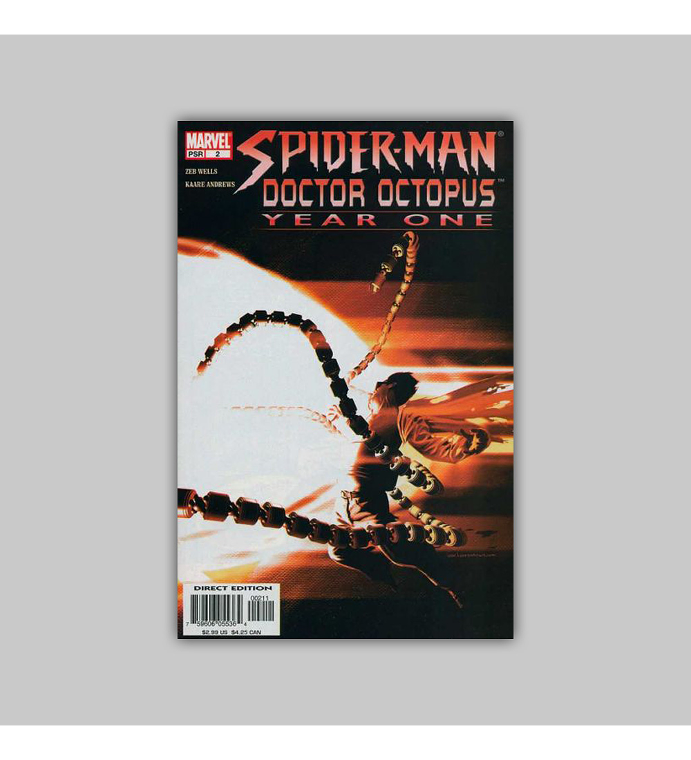 Spider-Man/Doctor Octopus: Year One 2 2004