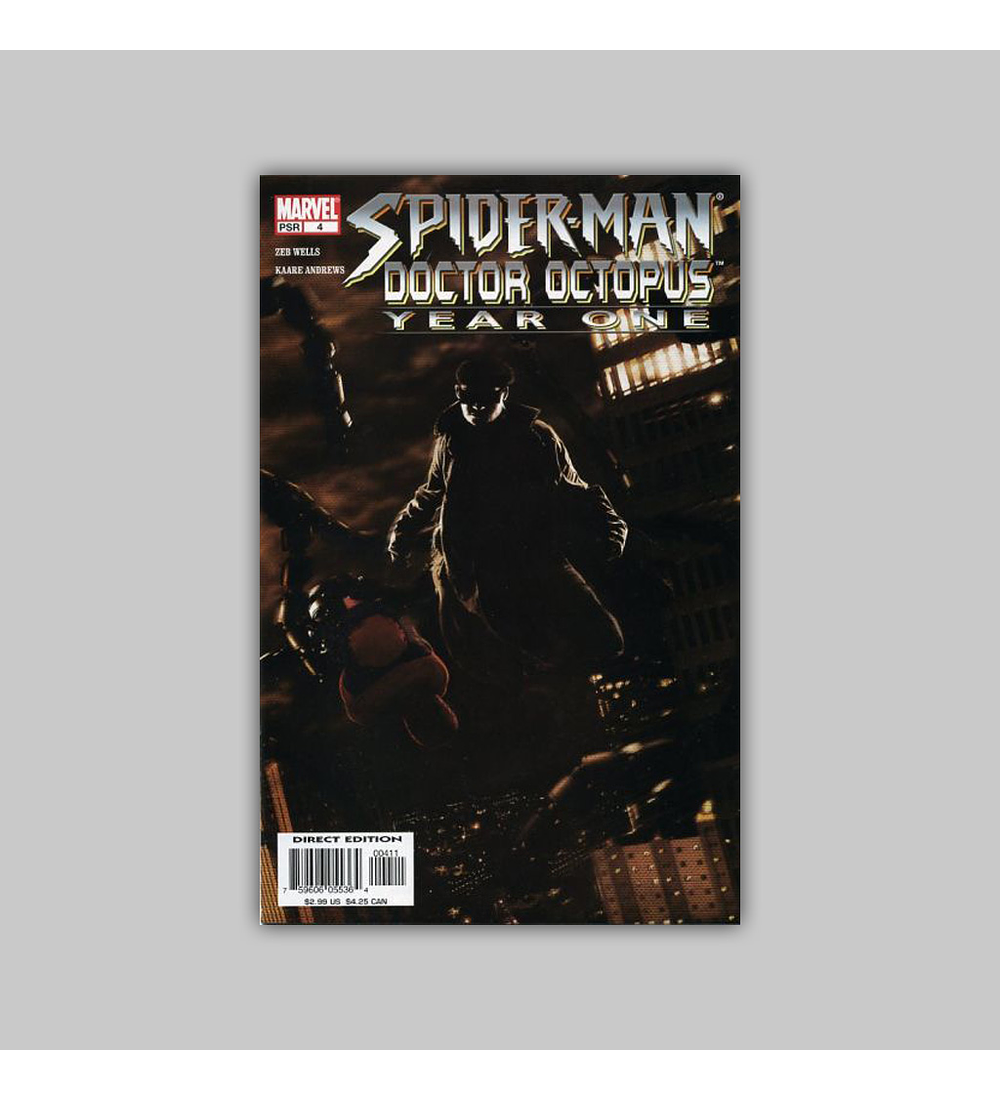 Spider-Man/Doctor Octopus: Year One 4 2004