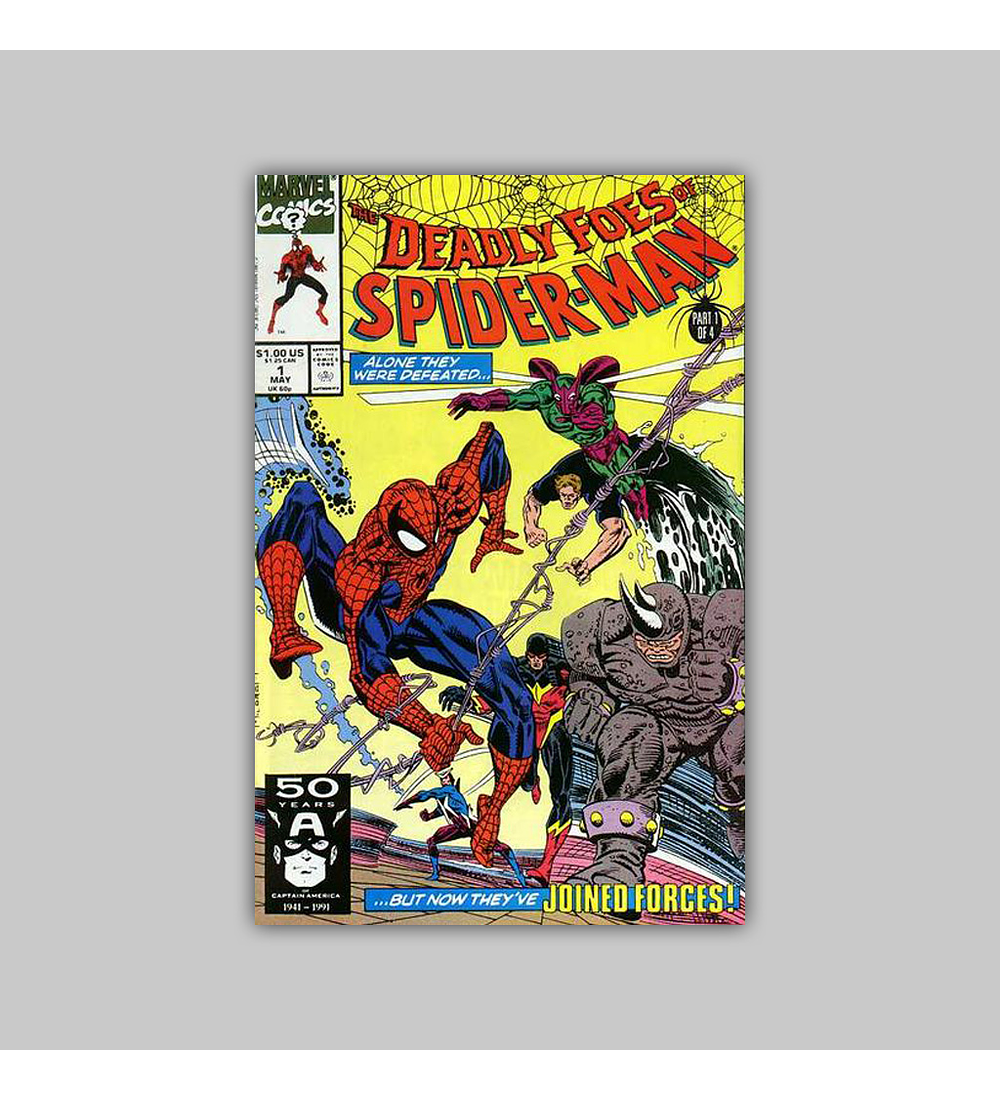 The Deadly Foes of Spider-Man 1 1992