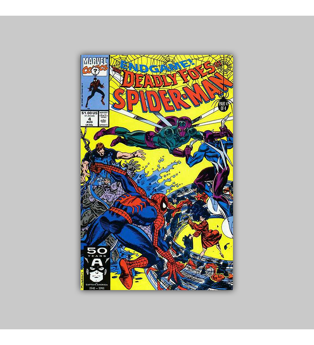 The Deadly Foes of Spider-Man 4 1991