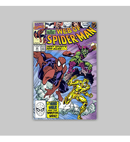 Web of Spider-Man 66 1990